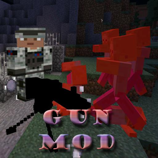Gun Mod Minecraft 0.15.0 Pe 教育 LOGO-玩APPs