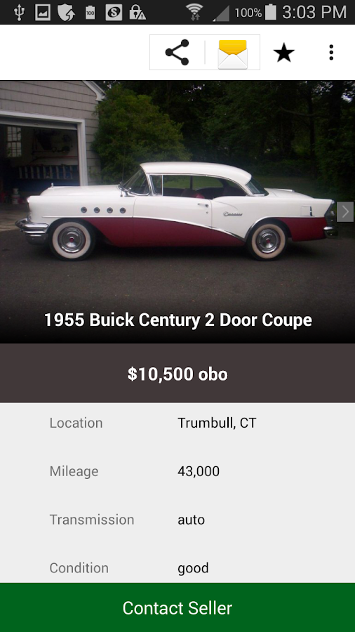 Hemmings classic cars for sale android apps on google play for Hemmings motor cars for sale