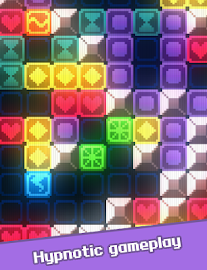Glow Grid - Retro Puzzle Game Screenshot 10