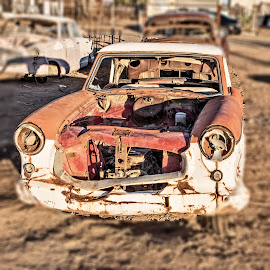 Old Rambler by Richard Michael Lingo - Transportation Automobiles ( vintage, auto, nash, transportation, rust,  )