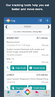 Screenshot of Calorie Counter & Diet Tracker