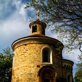 St. Martin's Rotunda by Daniela Maskova - Buildings & Architecture Statues & Monuments ( rotunda, czech republic )