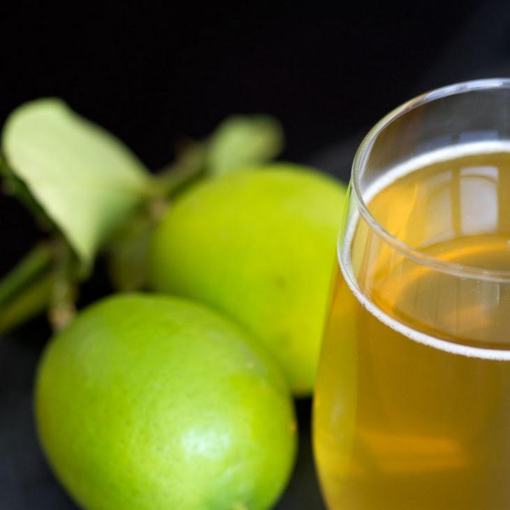 Sparkling Green Tea Cocktail Recipe