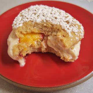 Cinnamon Peach Sandwich Cakes
