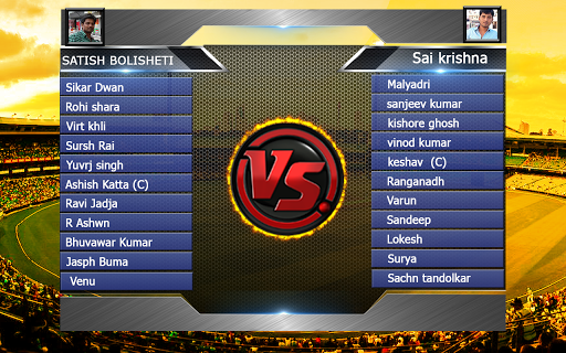 Top Cricket MultiPlayer screenshot 2