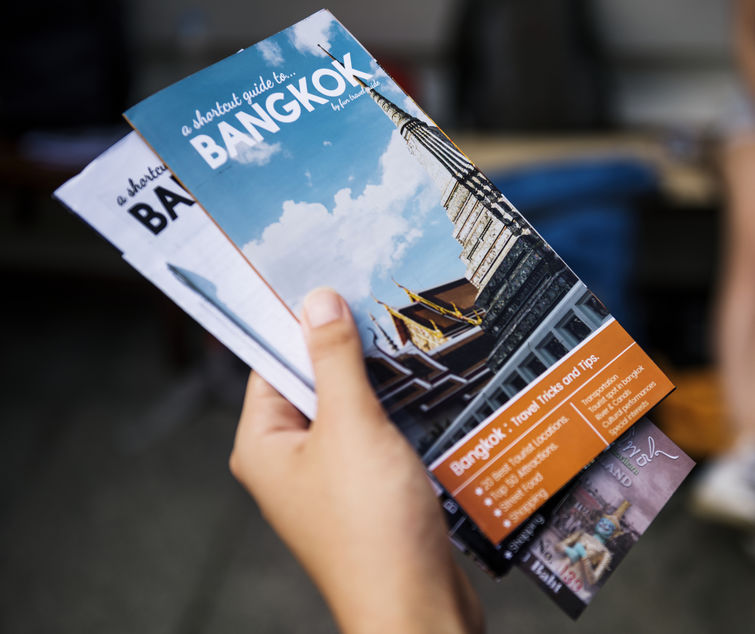 Design Professional Brochures For Your Business - 123RF Blog  Whether you're running your own yoga studio, a gym, or a travel guide business paired with your Airbnb, brochure design templates are definitely attention grabbers that can be used to promote a business seasonally and creatively.