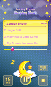 Nursery Rhymes Sleeping Music screenshot 6