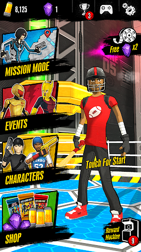Action-Man Runner FREE 1.0.5 screenshots 1