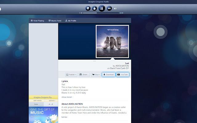 Pandora Extensions