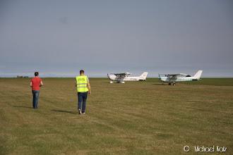 Photo: Passjekk er ferdig, og vi retter nesen mot vår siste destinasjon, Duxford.