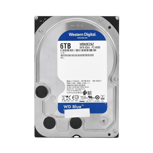 ổ cứng HDD WD Blue 6TB 3.5