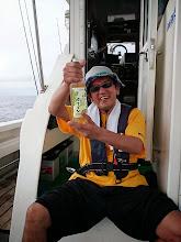 Photo: 「ルネッサーンス!」・・・あんたが釣ってないでしょ! もうちょっとセーブして!