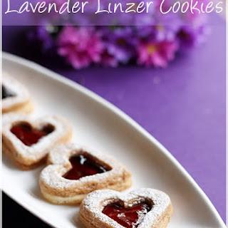 Lavender Cookies.