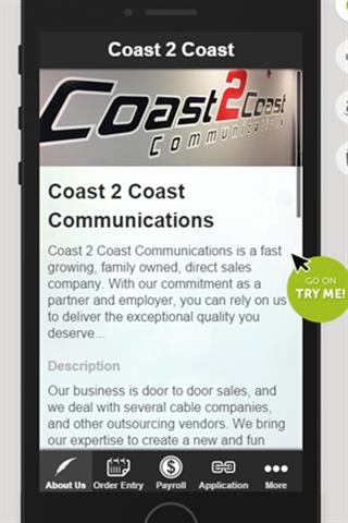 玩商業App|Coast 2 Coast Communications免費|APP試玩