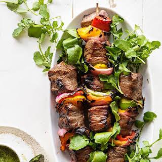 Killer Beef Kebabs.