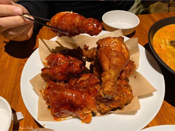 超好吃的韓式炸雞/酥脆可口最愛醬油口味/BiBiBa-韓國炸雞
