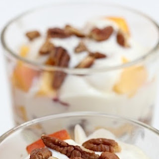 PEACH & PECAN BROWN SUGAR PARFAIT