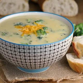 Amazing Broccoli-Cheddar Soup.