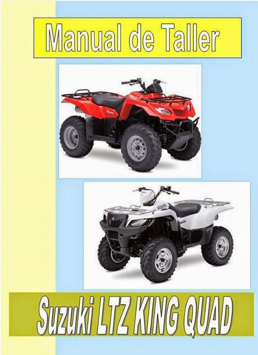 suzuki ltz kind quad   manual-taller-servicio-despiece