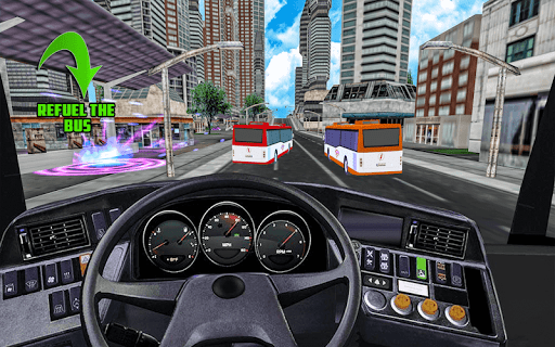 Luxury Coach Bus Simulator: Tourist Luxury Coach screenshots 16
