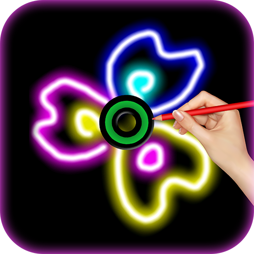 Draw and Spin - FIDGET Spinner