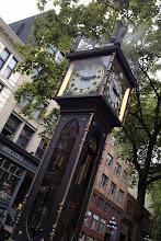 Photo: Gas Town Steam Clock