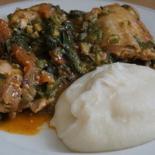 Delicious chicken Nigerian inspired Okra/Okro soup/stew recipe