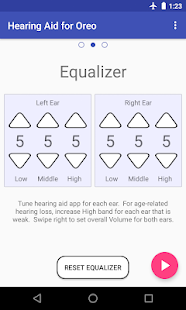 Super Hearing Oreo 8.0 (Amplifier Equalizer PSAP) Screenshot