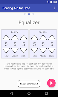 Super Hearing Oreo 8.0 (Amplifier Equalizer PSAP) screenshot 2