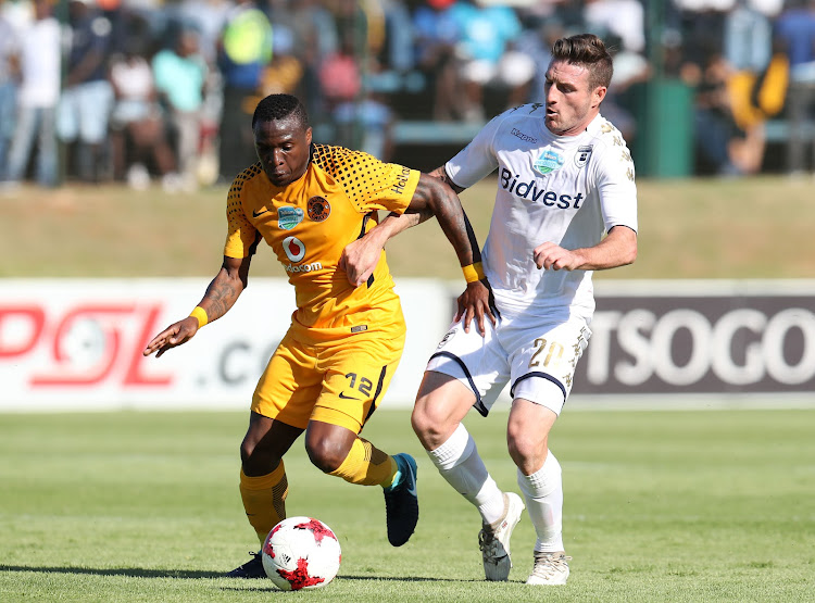 English striker James Keene is now on the books of three-time Absa Premiership champions.