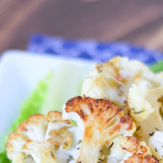 Lemon Pepper Aioli w. Roasted Cauliflower