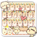 Lovely Sweet Cat Keyboard Theme icon