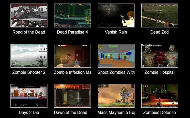 Zombies Shooting Games