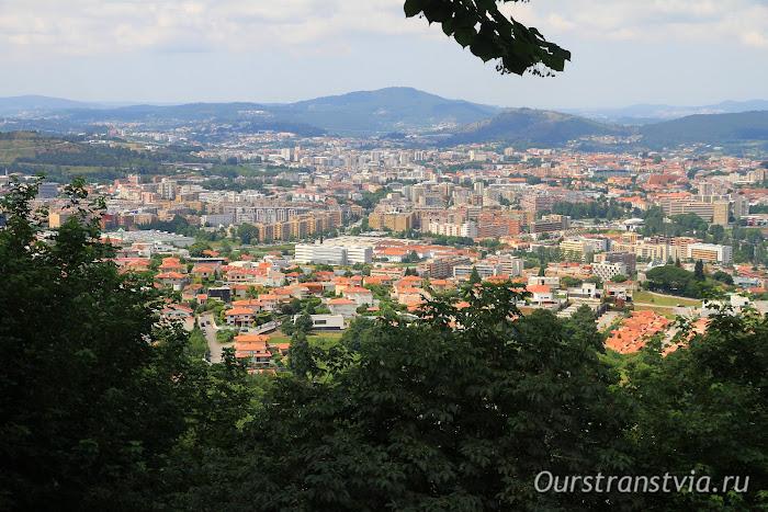 Брага со смотровой Бон Жезуш ду Монте, Португалия
