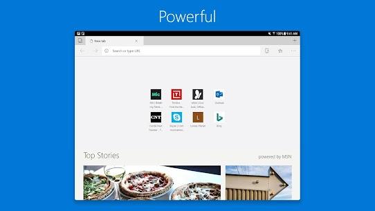 Microsoft Edge Browser 8