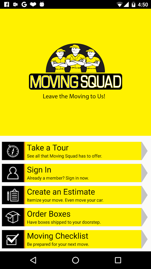 Moving Squad- screenshot
