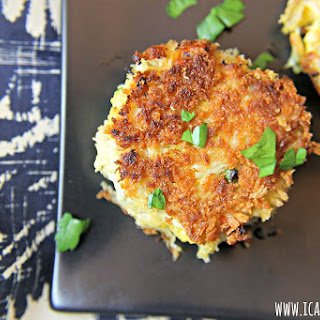 Crab Cakes with Spicy Mustard Sauce.