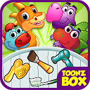 Baby Dino Mania- Pet Care Game mobile app icon