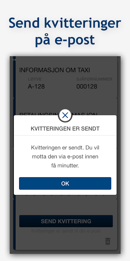 Oslo Taxi- screenshot