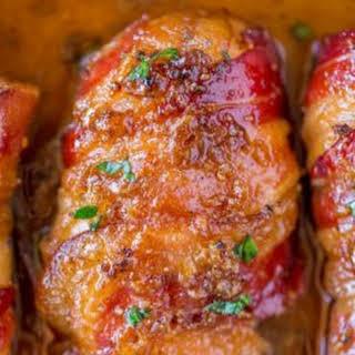 Bacon Brown Sugar Garlic Chicken.