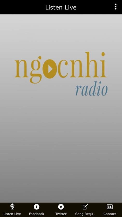 Ngoc Nhi Radio- screenshot