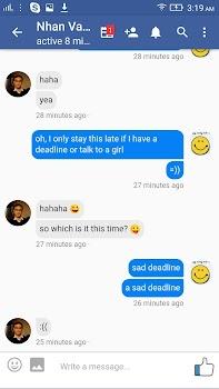 Lite Messenger for Facebook