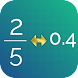 Fraction Decimal Calculator Pro image