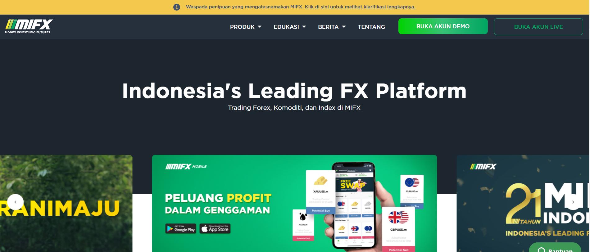 broker Monex investindo futures