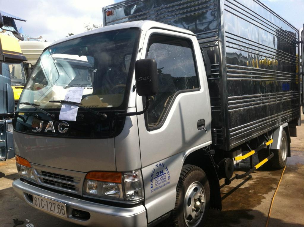 Bán xe tải jac 1T25, jac 1.25 tấn công nghệ Isuzu Nhật Bản - Trả góp từ 70- 80%