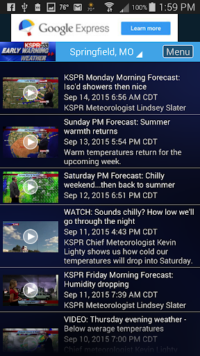 玩免費天氣APP|下載KSPR Weather app不用錢|硬是要APP