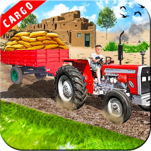 Heavy Duty Tractor Driver Cargo Transport Sim 3D