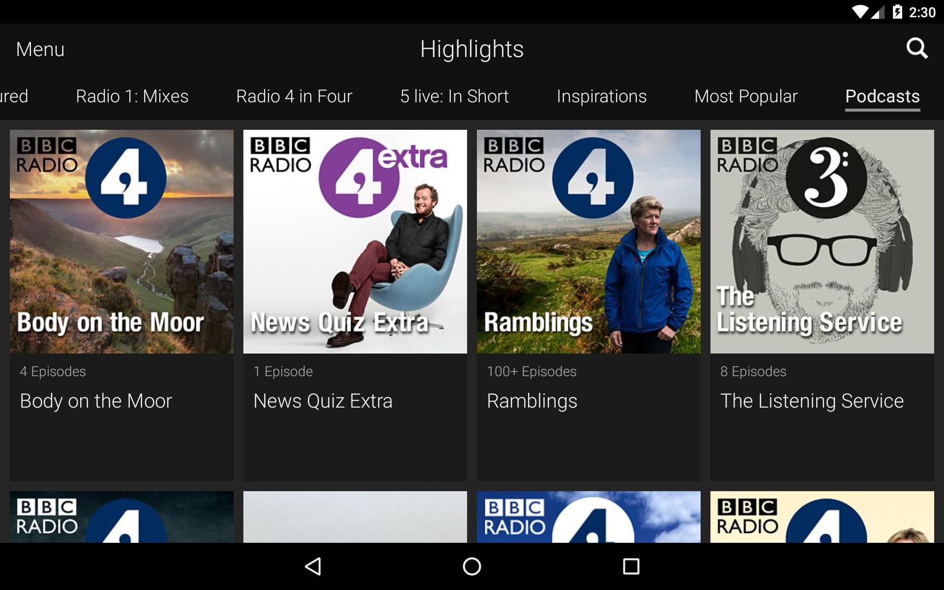 BBC iPlayer Radio screenshot #15