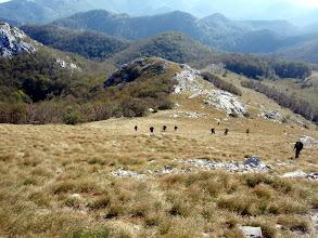 Photo: strmi uspon na Veliki Stolac
