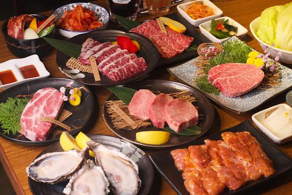 赤坂屋日式燒肉店-台灣第一家日式燒肉店,食材新鮮肉質軟嫩